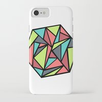 hexagon iPhone & iPod Cases featuring Hexagon by chrfahnestock