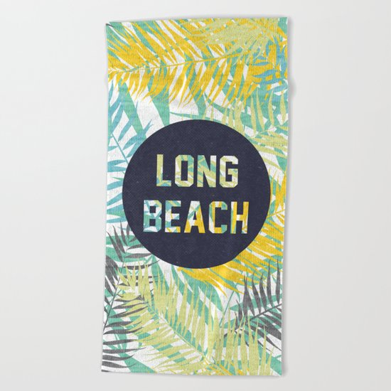 Long Beach Beach Towel