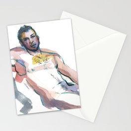 JESUS, Nude Male by Frank-Joseph Stationery Cards