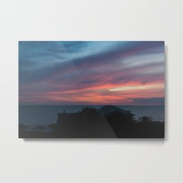 Zamora Sunset #2 Metal Print