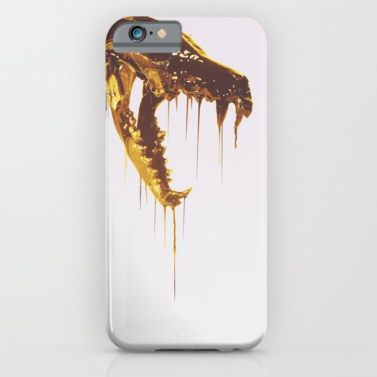 Painted Skull Gold iPhone & iPod Case