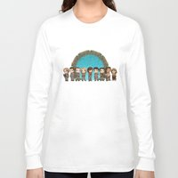 stargate Long Sleeve T-shirts featuring Cast of Stargate Atlantis by Ravenno