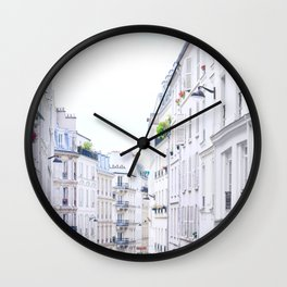 Inside Paris.Architecture Wall Clock