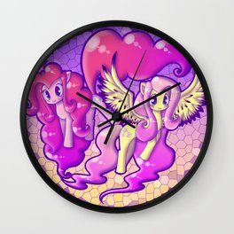 Laughter and Kindness Wall Clock