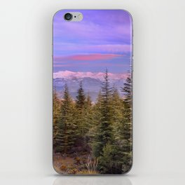 """""""At the mountains"""" iPhone Skin"""