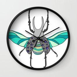 Rhino Beetle* Wall Clock