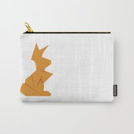 Origami Hare Carry-All Pouch