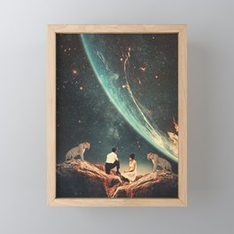 Guardians of our Future Framed Mini Art Print