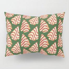 Christmas Tree Cakes Pattern - Green Pillow Sham