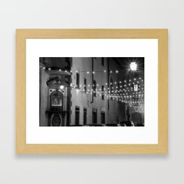 Madonna and Lights in Florence Framed Art Print