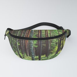 Woods by the Lejas Ezers Fanny Pack
