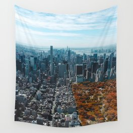 New York City Central Park Wall Tapestry