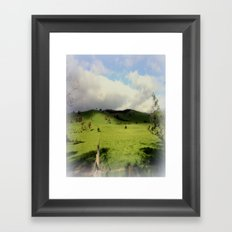 Victorian Highlands Framed Art Print