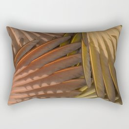 Northern Flicker Wings Rectangular Pillow