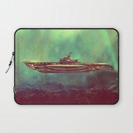 Golden Pirate Submarine Laptop Sleeve