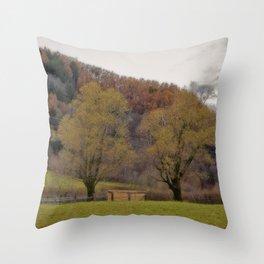 AUTUMNAL SHADES Throw Pillow