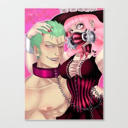 The Ghost Princess and Her Pet Marimo Canvas Print