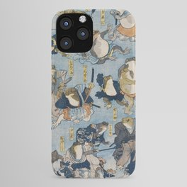 The Samurais Toads iPhone Case