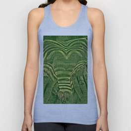 1276s-AK_3129 Aroused Motherboard Style Nude Woman Unisex Tank Top