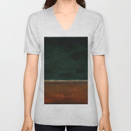 1953 Green and Maroon HD Unisex V-Neck