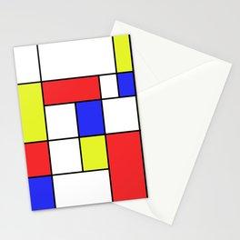 Mondrian #23 Stationery Cards