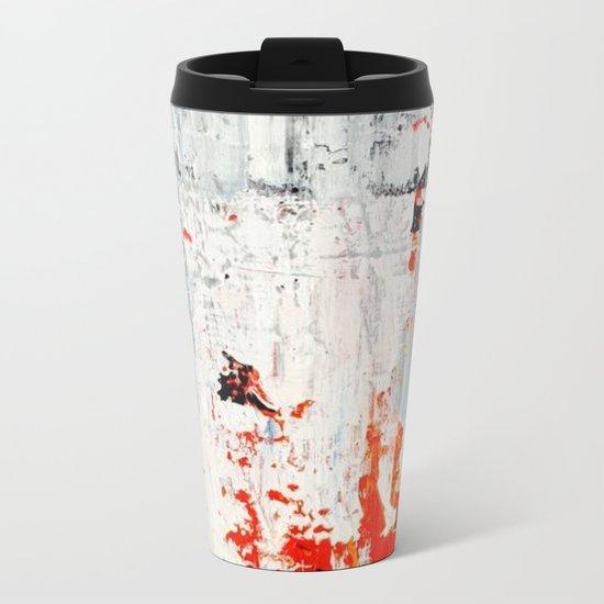 SCRAPED 2 Metal Travel Mug