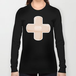 First Aid Plaster Long Sleeve T-shirt