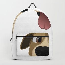 Funny Dogs Goofy Dog Graphic Backpack
