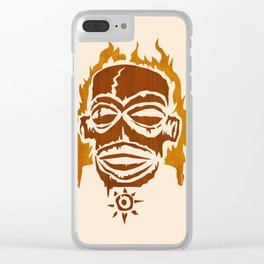 PNG AFIRE Clear iPhone Case