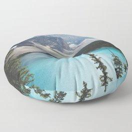 •lake moraine • Floor Pillow