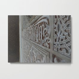 The Alhambra Metal Print