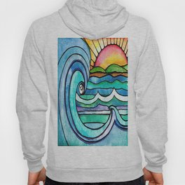 Beachy #society6 #spring #summer Hoody