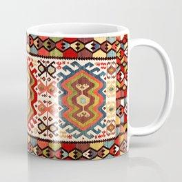 Hotamis  Antique Turkish Konya Turkmen Kilim Rug Coffee Mug