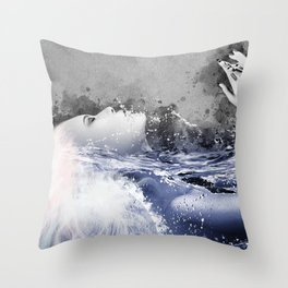 Immersion II Throw Pillow