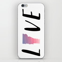 Love Vermont - Sunset Watercolor State iPhone Skin