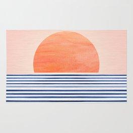 Summer Sunrise - Minimal Abstract Rug