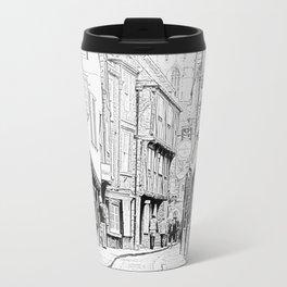 The Shambles in York City Travel Mug