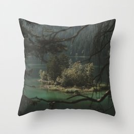 Framed by Nature - Landscape Photography Throw Pillow