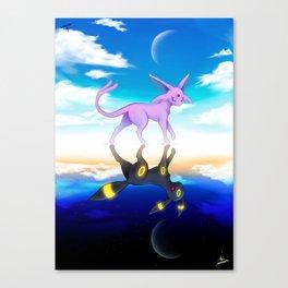 ESPEON & UMBREON Canvas Print