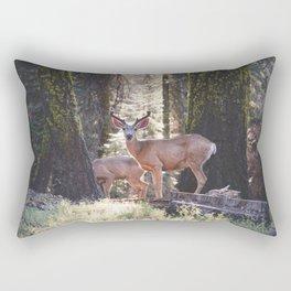 Mule Deer Rectangular Pillow