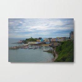 Tenby, Wales Metal Print