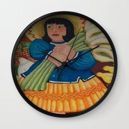 Para Liza Livier Wall Clock