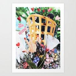 Be Mine Valentine 2 Art Print