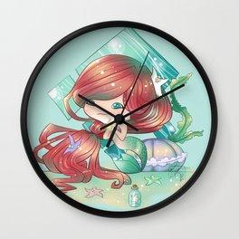 Ariel Chibi, The Little Mermaid Wall Clock
