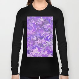 Amethyst Marble Long Sleeve T-shirt