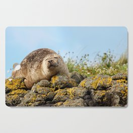 Seal at Dunvegan Castle, Scotland Cutting Board