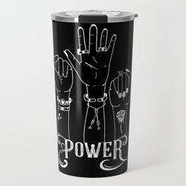 Feminist power Travel Mug