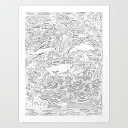 Synthesis Art Print