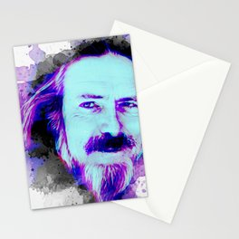 Alan Watts portrait Stationery Cards