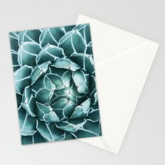 Succulent bloom Stationery Cards